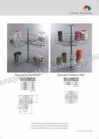 Rounded Storage Baskets