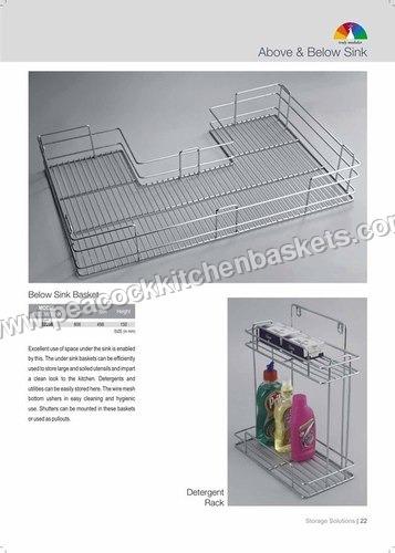 Below Sink Basket