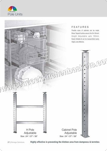Adjustable Shelf Pole