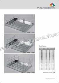 Kitchen Pullout Baskets