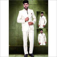 Mens Designer Standing Neck Suits