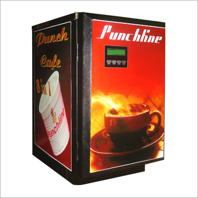Coffee Soup Vending Machine