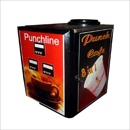 3 in 1 Tea Coffee Vending Machinery
