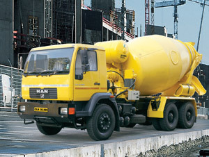 Concrete Mixer Truck Hire