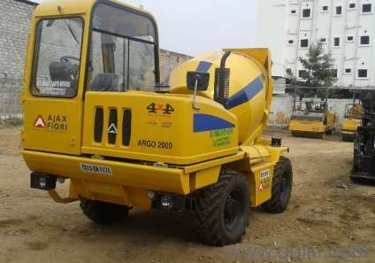Mobile Concrete Mixer Rental Service