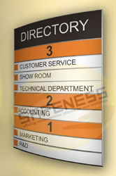 Modular Directory Signs