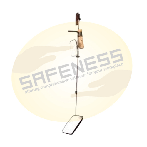 Telescopic Extension Mirror with Wheels