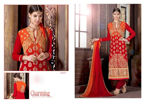 Wedding Unstitched Salwar Kameez