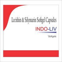 Lecithin Silymarin Softgel Capsules