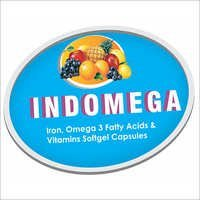 Iron, Omega 3 Fatty Acids and Vitamins Softgel Capsules