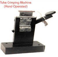 HAND OPERATED ALLUMINIUM TUBE CRIMPING MACHINE