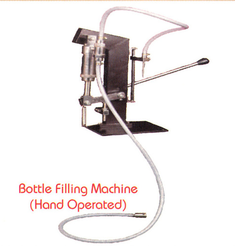 BOTTLE FILLING MACHINE HAND OPERATED