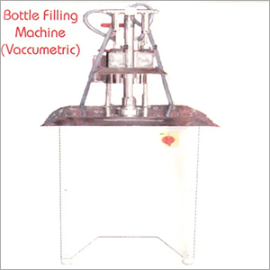 SEMI AUTOMATIC VACUMMETRIC LIQUID FILLING MACHINE
