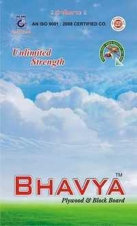 Our Brand ( Bhavya Plywood & Block board)