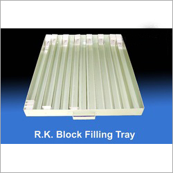Block Filling Cabinet Tray