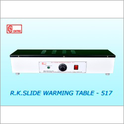 Slide Warming Tables