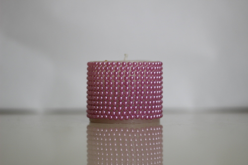 Pink Pearl Candle