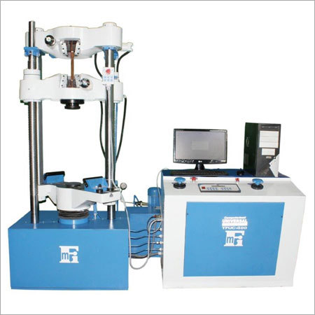 Open Cross Head Hydraulic Grip Universal Testing Machine
