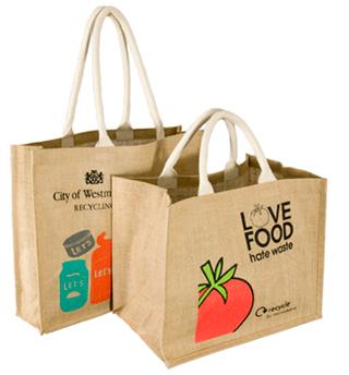 Reusable Jute Promotional Bag