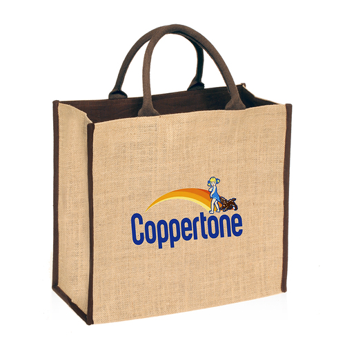 Promotional Short Handle Jute Bag