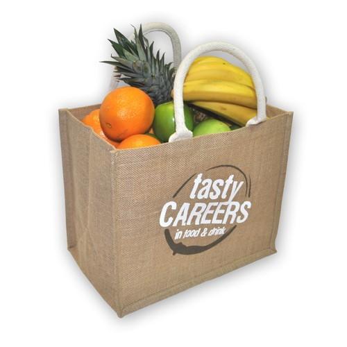 Jute Vegetable Shopping Bag