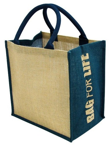 Jute Grocery Shopping Bag