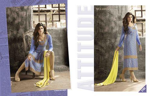 Ethnic Semi Stitched Salwar Suit