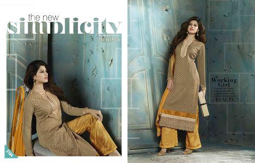 Fancy Semi Stitched Salwar Kameez