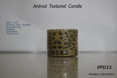 Animal Textured Candles
