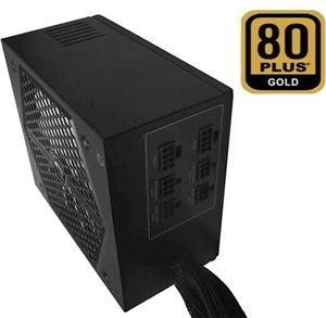 1200W 80 PLUS GOLD Certified ATX 12V 13.5cm White Fan Power Supply