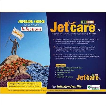 Imipenem 250-500 Mg Cilastatin 250-500 Mg Injection