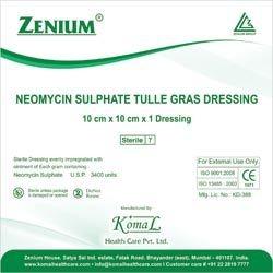 Neomycin Sulphate Tulle Dressing   (Fradiomycin Sulphate Tulle Dressing)