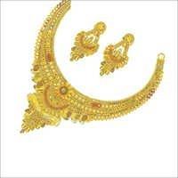 Imitation Gold Necklace Set