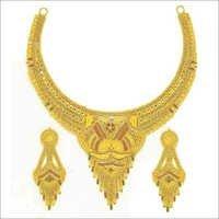 Artificial Gold Necklace Set