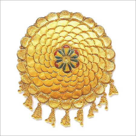 Gold Plated Juda Pin