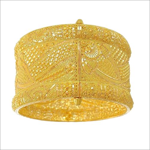 Gold Plated Kada