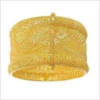 Designer Gold Plated Kada
