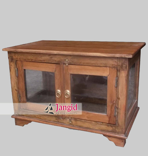Wooden Teak Bedside Cabinet India