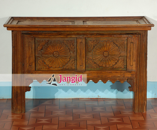 Indian Vintage Hand Carved Console Table