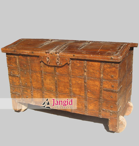 Antique Indian Trunk Box
