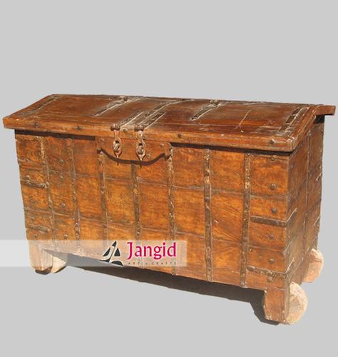 Antique Indian Trunk Box