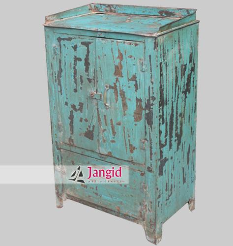 Vintage Metal Cabinet Design