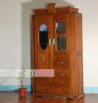 Indian Antique Wooden Wardrobes