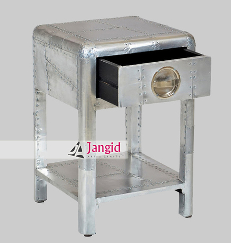 Indian Aviator Style Side Table