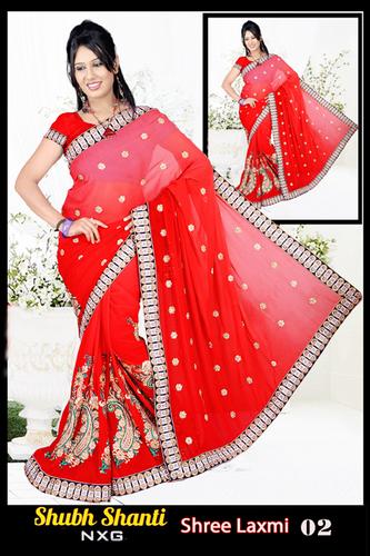 fancy Designer Print Saree