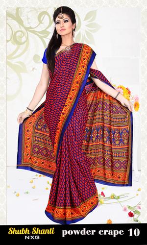latest Net Pallu Saree