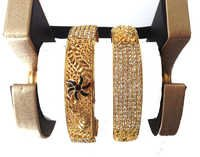 Imitation Gold Plated Bangles