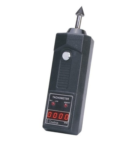 Portable Digital Tachometer Contact with Range 0 2