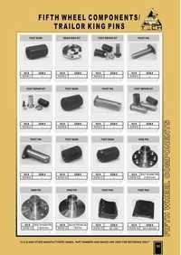 Fifth Wheel Components Catalogue