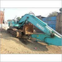 Dismantled Excavators